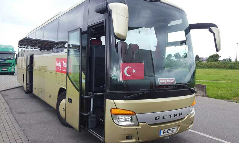 Coach with 56 seats
