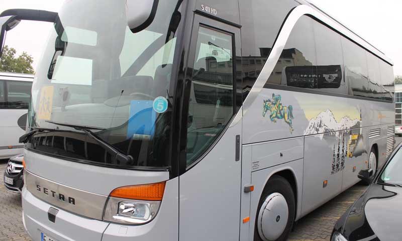 Bus mit Boardküche