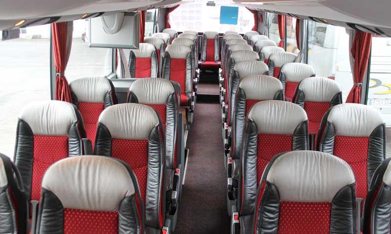 Bus Einzel verstellbare Sitze